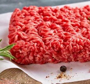 Beautiful Round Steak Mince Red Mince Steak