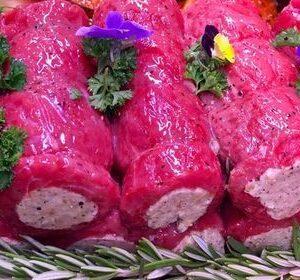 Sirloin Steak, Mine Steak, Rib-eye Steak, Stuffed Steak, Butchers, Murphys