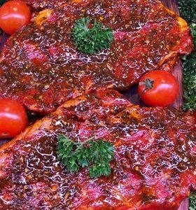 Pepper and Wild Garlic Rib - Eye Steaks